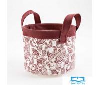 Текстильная корзинка Этель 'Восточные узоры' 12 х14 см