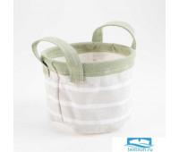 Текстильная корзинка Этель 'Пионы' 12 х14 см   5383577