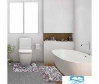 Набор ковриков для ванной Этель 'Beautiful life' 2 шт, 80х50 см