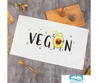 Полотенце Этель 'Vegan' 40х73 см, 100% хл