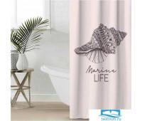 Штора для ванной Этель 'Marine life' 145 х 180 см