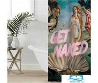 Штора для ванной Этель 'Get naked' 145 х 180 см