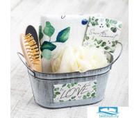 Набор подарочный 'Eucaliptus' с полотенцем (5 предметов)