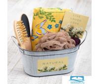 Набор подарочный 'Enjoy life' с полотенцем (5 предметов)