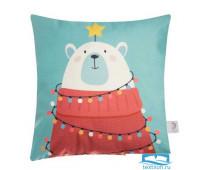 Чехол на подушку Этель «Новогоднее настроение» 40 х 40 см