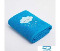 Полотенце Экономь и Я «Облачко мальчик» 50*90 см, цв.голубой