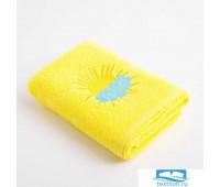 Полотенце Экономь и Я «Солнышко» 50*90 см, цв.желтый