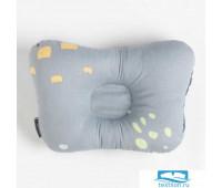 Подушка анатомическая Крошка Я Light gray, 26х22 см
