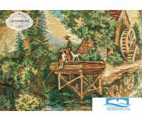 Накидка на кресло гобелен 'Provence' 50х140 см