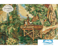 Накидка на кресло гобелен 'Provence' 60х140 см