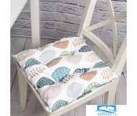 Подушка на стул Эннеди, 705-2150/2, хлопок, цвет мультиколор