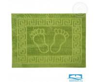 НОЖКИ АРТ Дизайн Коврик на резиновой основе 50*70 зеленый