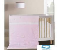Од-Д№1-90х120 Слоник (розовое) Одеяло 90х120