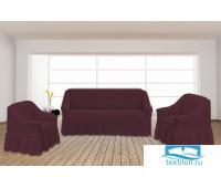 8824 Комплект чехлов для мебели TexRepublic Absolute Стрейч