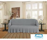 8831 Чехол для мебели TexRepublic Absolute Стрейч Прямой Серый