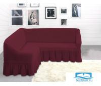 8840 Чехол для мебели TexRepublic Absolute Угловой Бордовый