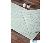 Набор ковриков для ванной Карвен 'RUYA' KV 106 бирюзовый