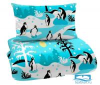 Одеяло легкое 2 сп. 'Пингвины' 2 сп