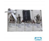 Салфетки 'COFFEE DOR' Белый (4шт-30*50) (Maison Dor)
