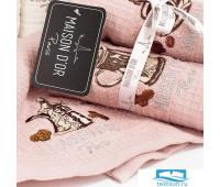 Салфетки 'COFFEE DOR' Розовый (4шт-30*50) (Maison Dor)