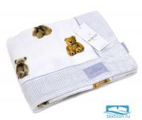 Плед 'SWEETY BEARS' (75*100) (Maison Dor)