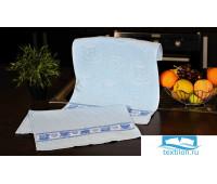 ЧАШКА голубой набор кухонных полотенец (2шт.) 40х60, шт