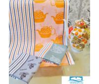 ЧАЙНЫЙ МИКС вафельные полотенца (3 шт)