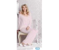 №14013 Пижама женская., розовый р-р:38 №14013