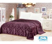 Шарм (пурпур) Покрывало велсофт 150х200