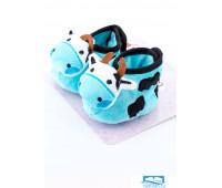 Пинетки для малышей с коровками Attractive Пинетки на липучке
