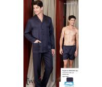 Шелковая мужская пижама из 3-х предметов Twisi Twisi_Adriano