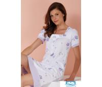 Трикотажная женская ночная сорочка Vilfram V_8648 Белый 60