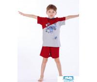 Яркая пижама для мальчика Eclisse C2199 Красный 6 лет