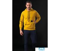 Спортивный костюм для мужчин с капюшоном Manam MU_9023 Желтый