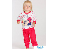Хлопковая пижамка для девочки с Minnie Mouse Planetex