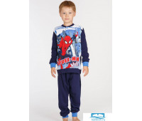 Хлопковая пижама для мальчика с Человеком-пауком Planetex