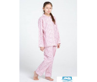 Цветочная пижама для девочки из фланели Honey Pellegrini_Lucy