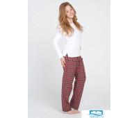 Клетчатые фланелевые брюки и трикотажная кофта Lady Law