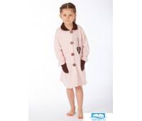 Халат детский на пуговицах Snelly Snelly_40036 rosa Розовый 9
