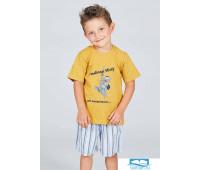 Шорты и футболка на лето для мальчика Happy people HP_4513