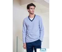 Хлопковый домашний комплект для мужчин Verdiani VI_U5709 Синий