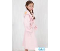 Очаровательный детский халат Happy people HP_2842 rosa Розовый