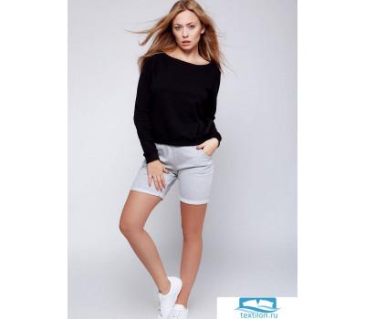 FEEL Комплект с шортами L Черный + серый