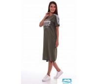 4-61 (хаки-меланж) Платье женское 4-61 (хаки-меланж), шт, 58