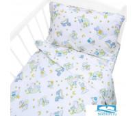 Постельное белье в детскую кроватку 9841/1 Кроха поплин с