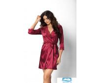 Халат Don_Venus dressing gown Burgundy L Бордовый