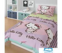 Набор 'Hello Kitty' 1,5СП Набор HKitty 1592 83/1+85/1 ПН10 01