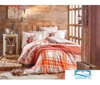 Комплект постельного белья 1,5 сп. (Евро) фланель 'VALENTINA'