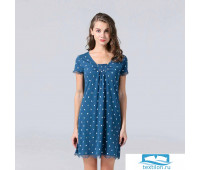 Пижама Arya Женская Туника 5684 Синий, XL
