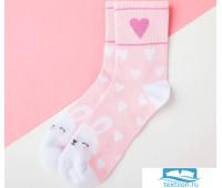Носки детские KAFTAN Зайка р-р 16-18, розовый   4531833